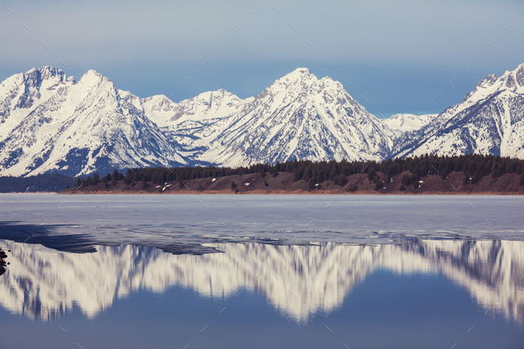 Grand Teton - Stock Photo - Images