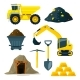 Illustrations of Mining Industry - GraphicRiver Item for Sale