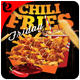 Chili Fries Flyer Template - GraphicRiver Item for Sale