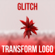 Glitch Transform Logo Intro - VideoHive Item for Sale