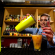 The bartender prepares cocktails at the bar - PhotoDune Item for Sale