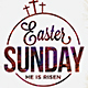 Easter Sunday Flyer Poster - GraphicRiver Item for Sale