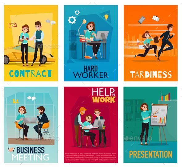 Multitasking Cards Set - Concepts Business