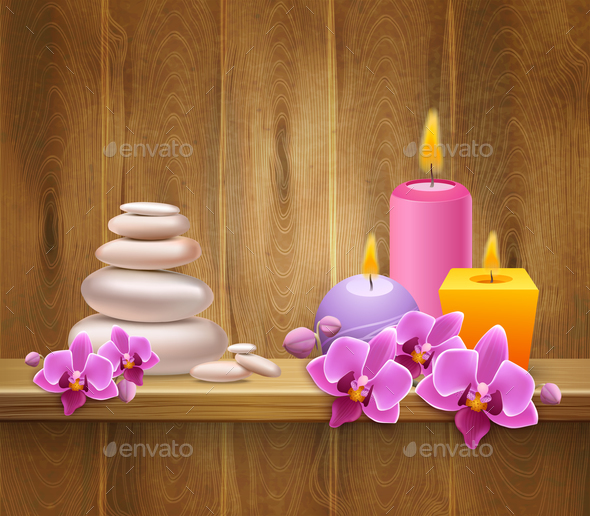 8 of March Realistic Background - Miscellaneous Vectors