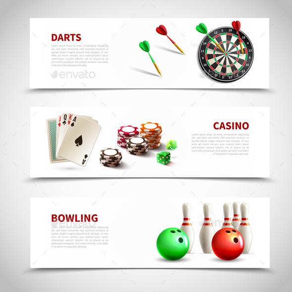 Games Realistic Composition Set - Sports/Activity Conceptual