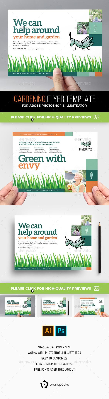 Gardening Flyer Template - Corporate Flyers
