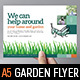 Gardening Flyer Template - GraphicRiver Item for Sale