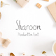 Sharoon Handwritten Sans Serif Font - GraphicRiver Item for Sale