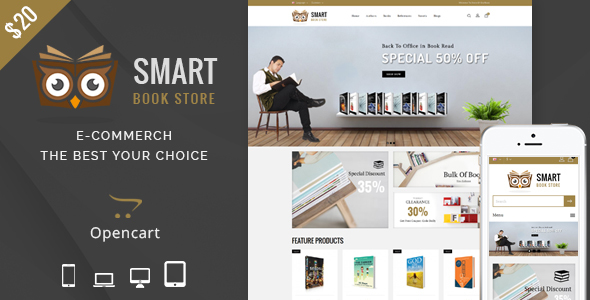 Books - OpenCart Responsive Theme - Fashion OpenCart