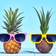 Tropical Pineapple and Coconut. Two Hipster Fruits - PhotoDune Item for Sale