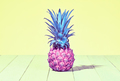 Tropical Pineapple. Vanilla Pastel Color. Summer - PhotoDune Item for Sale
