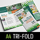 Gardening Tri-Fold Brochure Template - GraphicRiver Item for Sale