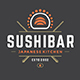 18 Sushi Bar Logos and Badges - GraphicRiver Item for Sale