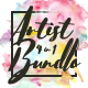 Artist 4 in 1 Bundle vol.3 - GraphicRiver Item for Sale