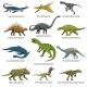 Dinosaurs Set - GraphicRiver Item for Sale