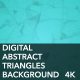 Digital Abstract Triangles Background 4K - VideoHive Item for Sale