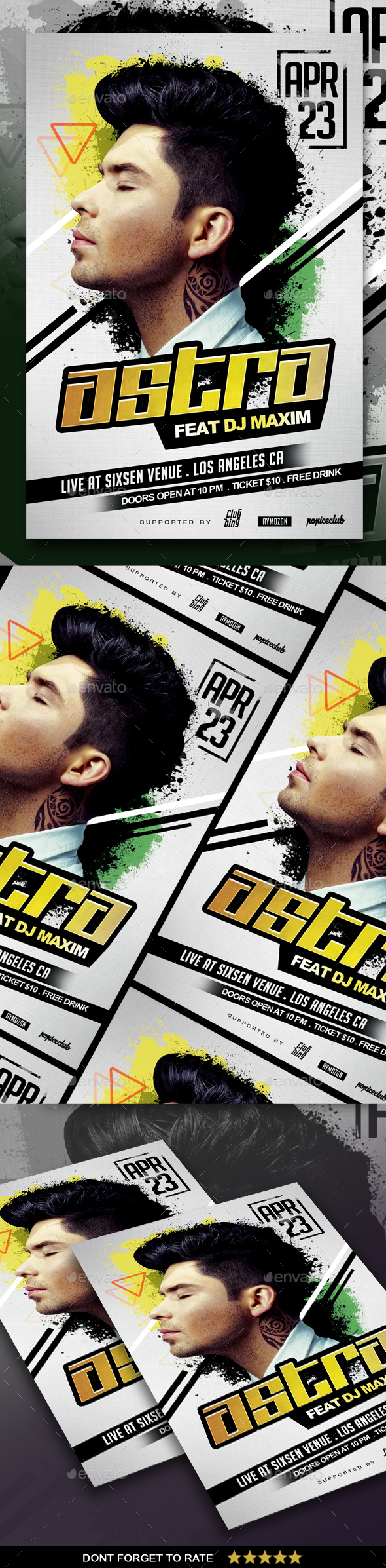 DJ Concert Flyer - Concerts Events