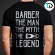 Barber T-Shirt Badge - GraphicRiver Item for Sale