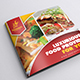 Restaurant Menu Brochure - GraphicRiver Item for Sale