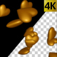Gold Hearts Transition - VideoHive Item for Sale