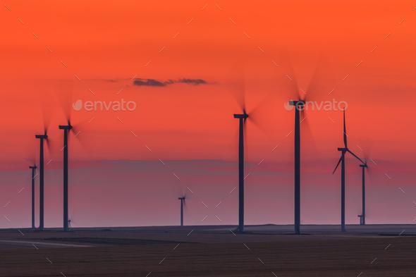 wind power turbine - Stock Photo - Images