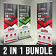 Corporate Roll-Up Banner Bundle - GraphicRiver Item for Sale