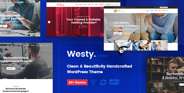 Westy - Responsive Multi-Purpose WordPress Theme