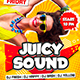Juicy Sound Party Flyer - GraphicRiver Item for Sale