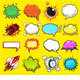 Comic Speech Bubbles - GraphicRiver Item for Sale