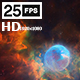 Fly Through In Bubble Galaxy - VideoHive Item for Sale