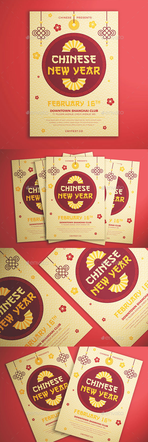 Chinese New Year Flyer - Events Flyers