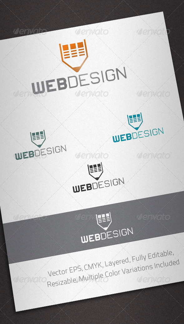 Web Design Logo Template - Abstract Logo Templates