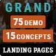 Grand - Lead Generating HTML Landing Pages - ThemeForest Item for Sale