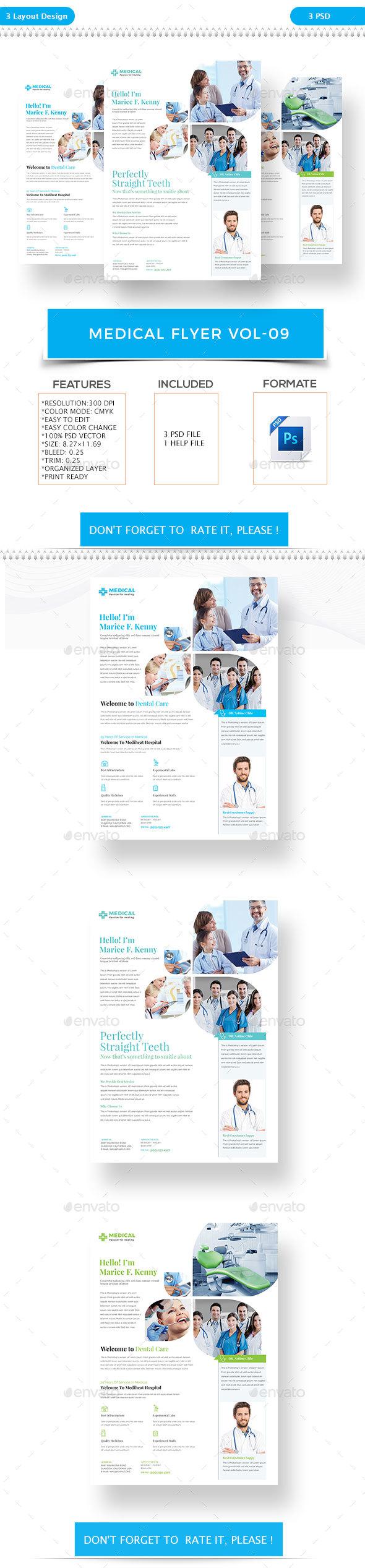 Medical Flyer VOL-9 - Flyers Print Templates