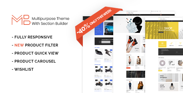 Multibuy - Multipurpose Shopify Theme with Section Builder
