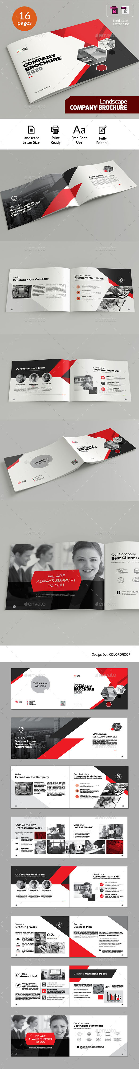 Landscape Company Brochure - Corporate Brochures