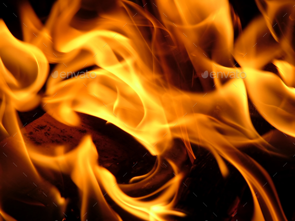 Flames - Stock Photo - Images