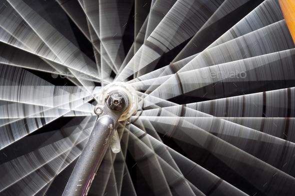 Rotating wheel - Stock Photo - Images