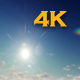 Sun In Blue Sky - VideoHive Item for Sale