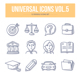 Universal Doodle Icons vol.5 - GraphicRiver Item for Sale