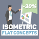 Isometric Flat Concepts - VideoHive Item for Sale