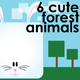 Cute forest animals - GraphicRiver Item for Sale