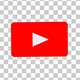 The Youtube Logo Transforms Into a Subscribe Button With Alpha Channel - VideoHive Item for Sale