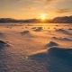 Snowy Arctic Tundra at Sunset - VideoHive Item for Sale