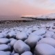 The Icy Shore of the Barents Sea in Severe Frost - VideoHive Item for Sale