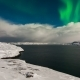 Aurora Borealis Above the Barents Sea - VideoHive Item for Sale