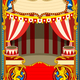 Circus Cartoon Vector Decoration - GraphicRiver Item for Sale