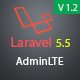 Laravel AdminLTE Integration + User CRUD
