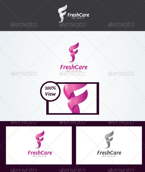 Fresh Care Logo Logo Templates - Letters Logo Templates