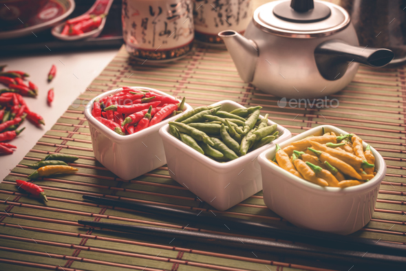 Oriental Pepper Ingredient - Stock Photo - Images